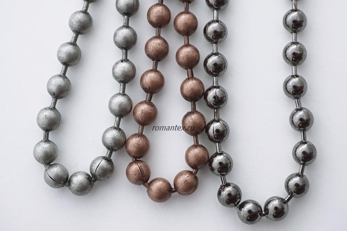 Фото цепочки шариковые стальные