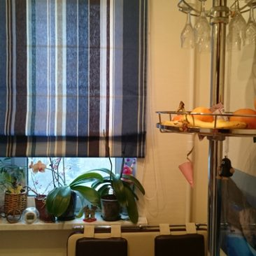 Фото римской шторы romantex