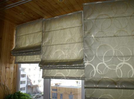 Римская штора индивидуального пошива