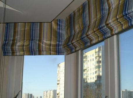 Фото Пошив римских штор