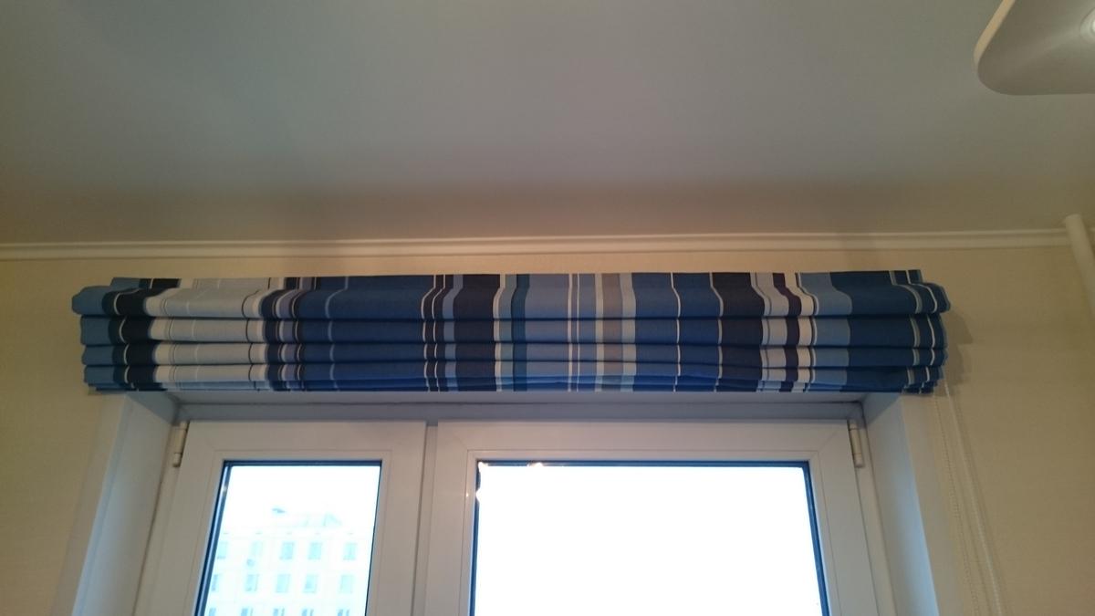 Фото-отзыв о пошиве римской шторы