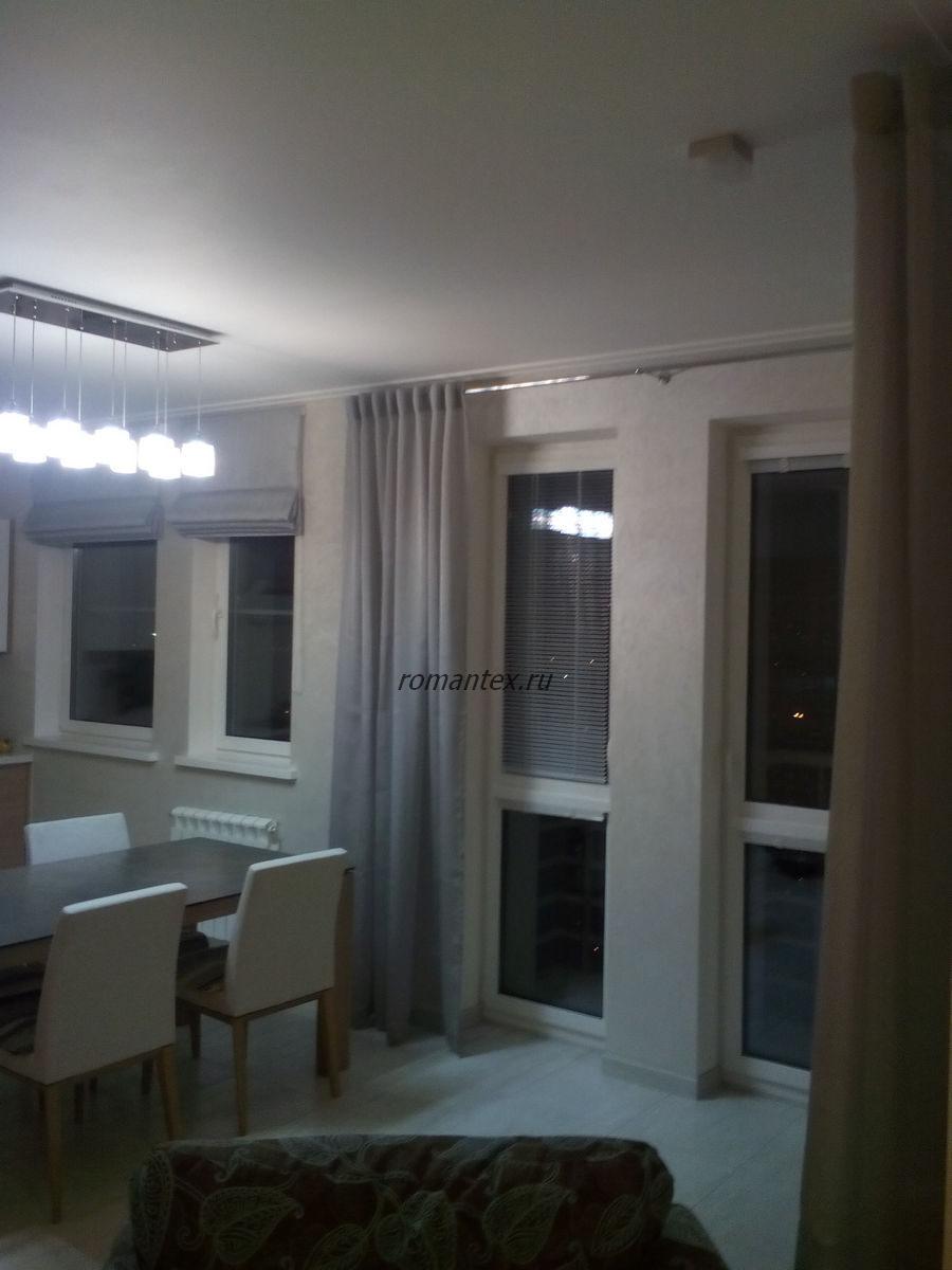 Фото римские шторы и портьеры Magic